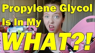 Propylene Glycol Is In My WHAT? | Antifreeze is in your foundation!
