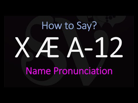How to Pronounce X Æ A-12? | Elon Musk & Grimes Baby Son's Name