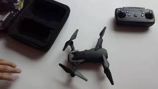 Clone miniatura del mavic mini? Drone de bajo costo y cámara 4k - Unboxing