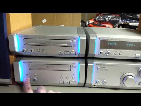 Technics SC-HD505 executive micro stereo system