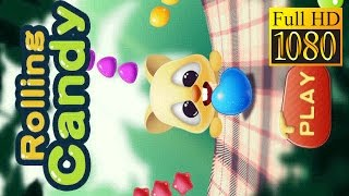 Rolling Candy Frenzy Game Review 1080P Official Candy Studio Casual 2016