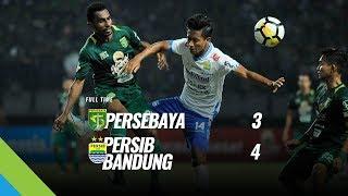 Cuplikan Tujuh Gol Persebaya vs Persib Bandung