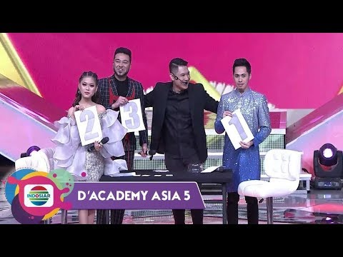 LUAR BIASA!!!Magician Abu Marlo Bisa Tebak Urutan Tampil Peserta D'Academy Asia 5
