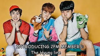 2PM GUIDE - Introducing 2PM members part 1 (hyung line)
