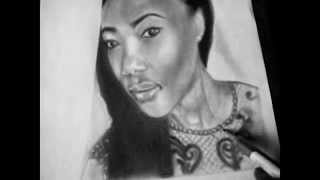 Presss - Thojana ya thesele (Tumi Russell speed drawing)