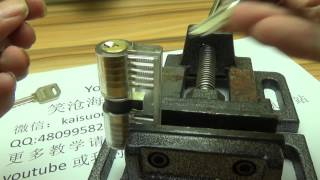 How to Open a Lock Using Chewing Gum - The Method and Principles