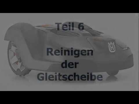 Husqvarna Automower® - Demontage der Gleitscheibe