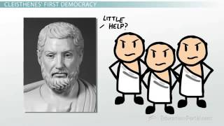 Athenian Democracy Solon and Cleisthenes