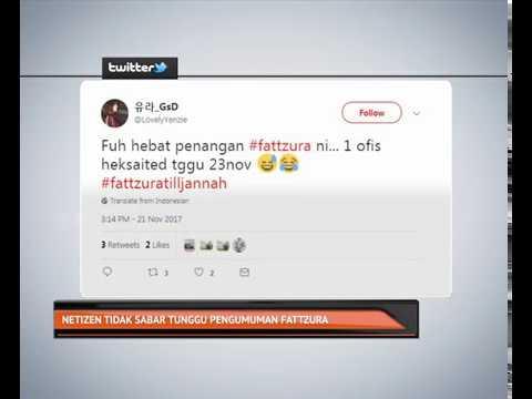 Netizen tidak sabar tunggu pengumuman Fattzura