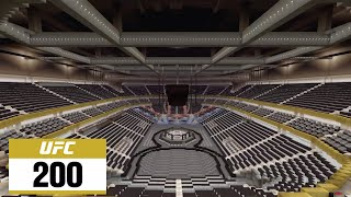 Minecraft UFC 200 arena 2016/T-Mobile Arena