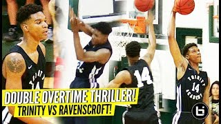"""Isaiah Todd A 6'10"""" UNICORN! TOP 10 JUNIOR Leads Trinity past Ravenscroft in DOUBLE OT THRILLER!"""