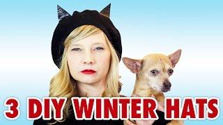 3 Stylish DIY Winter Accessories: Cat Ear Hat & More - HGTV Handmade