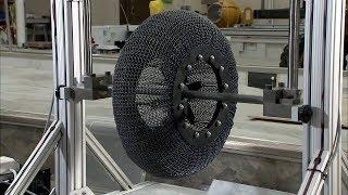 Nova roda criada pela NASA: se serve para Marte, certamente serve para o Brasil