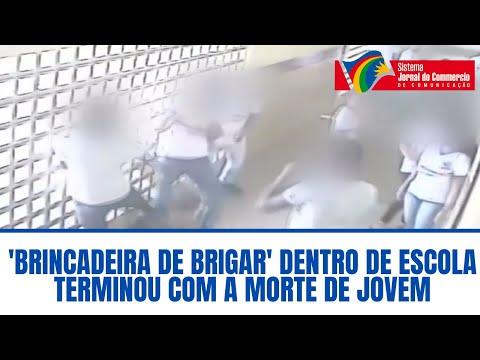 'Brincadeira de brigar' dentro de escola terminou com a morte de jovem de 17 anos, em Jaboatão