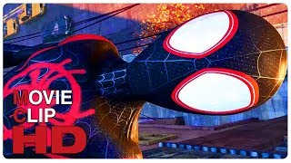 Miles Morales Spider Man Origin Story Scene   SPIDER-MAN: INTO THE SPIDER-VERSE (2018) Movie CLIP HD
