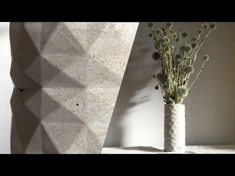 水泥花瓶DIY Cement Planters