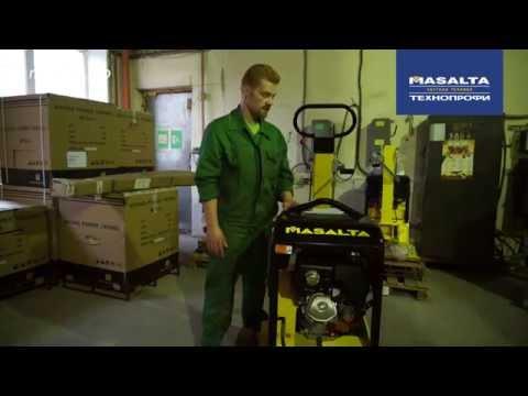 Эксплуатация и обслуживание виброплиты Masalta MS330