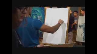 Lucio Parrillo:Speed Drawing al Lucca Comics 2015