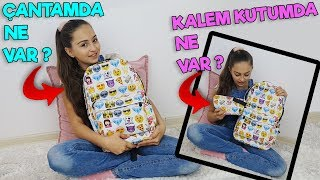 Çantamda Ne Var , Kalem Kutumda Ne Var | OKULA DÖNÜŞ - Back to school | ( What's in my bag )