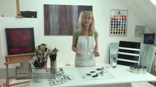 Schmincke MUSSINI® Schwarztöne - Ölfarben mit unterschiedlicher Wirkung