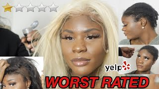 I WENT TO THE WORST REVIEWED HAIR SALON IN MY CITY | (cursed Me Out IN SPANISH) SHE IS RACIST