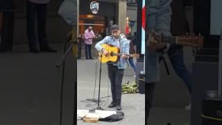 Jo Laureys singing Dancing On My Own in Cologne