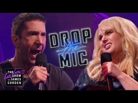 Drop the Mic vs. David Schwimmer a Rebel Wilson