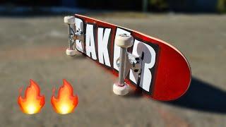 Erstes Skateboard Setup in 2021 | New Baker Setup