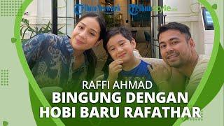 Punya Hobi Baru, Rafathar Suka Mendekam di Garasi, Raffi Ahmad Bingung: Kenapa sih?