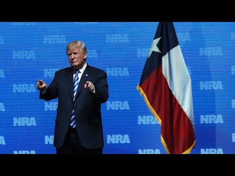 US - Trump tells NRA a civilian gunman could have stopped Paris attack