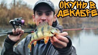 Рыбалка на реке в декабре
