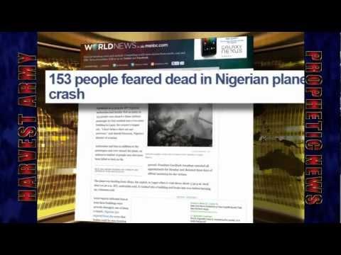 NIGERIA Historical! 'PLANE CRASH' 193 Dead, Building Destroyed June 3, 2012. Prediction.