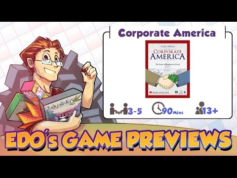 Edo's Corporate America Review (KS Preview)