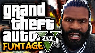 GTA 5: PC Funny Moments! #1 - Video Editor, Cow Attack, Mods! - (GTA 5 Funny Moments)
