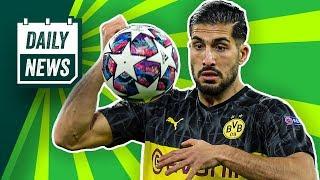 Pfannenstiel hört auf! BVB schlägt PSG! Tah zu Atlético? Onefootball Daily News