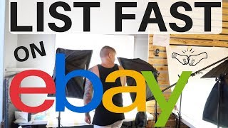 eBay | How Many Items Can We List In 2 Hours!? | HOW TO LIST FASTER | Ralli Roots