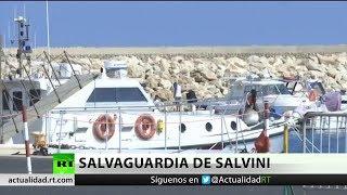 Italia redirige el segundo barco con migrantes africanos
