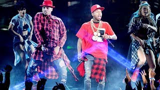 Chris Brown Performing 'Loyal' (Bet Awards 2014) ft Lil wayne,Tyga