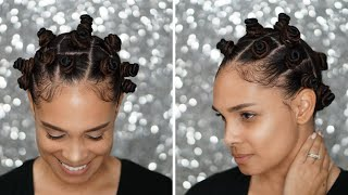 Natural Hair: How To Do Bantu Knots