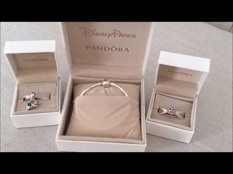 REVIEW: DisneyParks Pandora Bangle Bracelet with Dumbo and Alice in Wonderland Teacup Charms