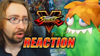 MAX REACTS: Blanka Reveal - Street Fighter 5 Season 3