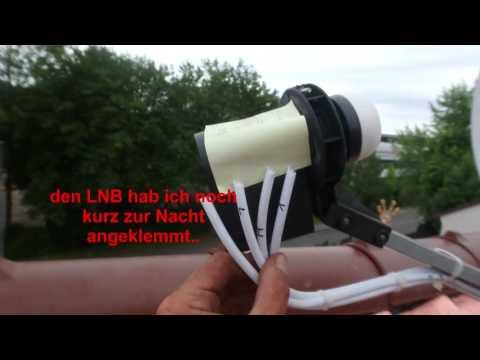 SAT Antenne: Umbau Einfacher Sat-Anschluss zu Mehrfach Verteiler mit WLAN