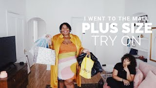 PLUS SIZE SHOPPING IN A LOS ANGELES MALL | AND I GET DRESSED