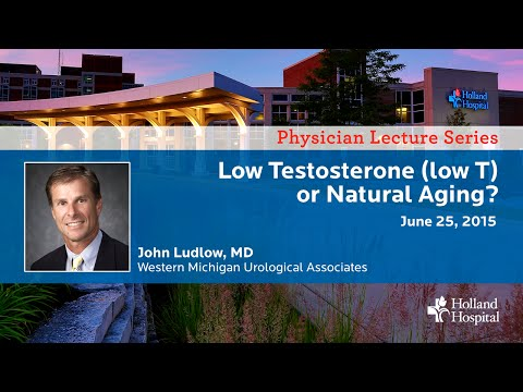 Is it Low Testosterone or Natural Aging?