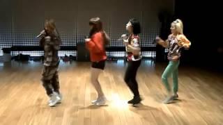 2NE1 'Do You Love Me' mirrored Dance Practice