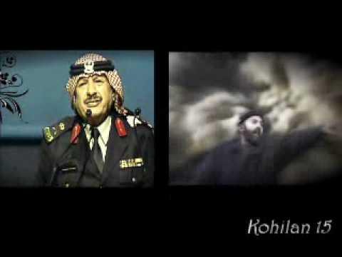 أحداث غزة  بصوت شاعر الوطن :خلف بن هذال