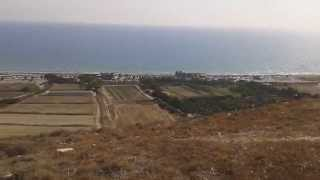 preview picture of video 'Courion beach at Episkopi village east of Limassol Cyprus'