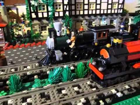 Vidéo LEGO The Lone Ranger 79111 : Course poursuite dans le train