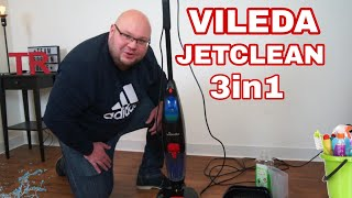 Vileda Jetclean 3in1 Test Review Vileda Saugwischer Bodenreiniger