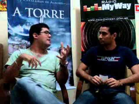 Entrevista com Michel Fonseca o Autor de Os 7 Cavaleiros de Algord!